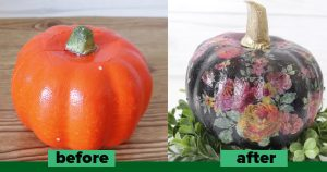 3 Dollar Store Pumpkin Makeovers To Try