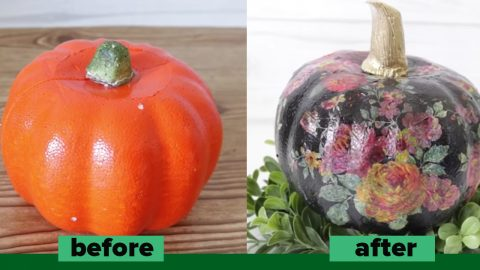 3 Dollar Store Pumpkin Makeovers To Try | DIY Joy Projects and Crafts Ideas