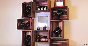Learn How To Make A Wood Crate Shelving Unit