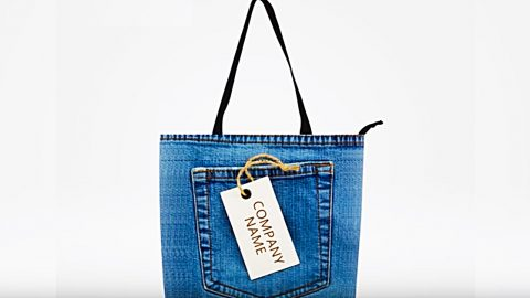 DIY Upcycled Jean Bag   DIY Joy Projects and Crafts Ideas