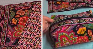 DIY Placemat Zipper Pouch