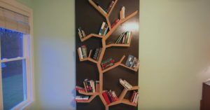 How To Make A Tree Bookshelf