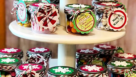 Diy Mason Jar Candy Gifts