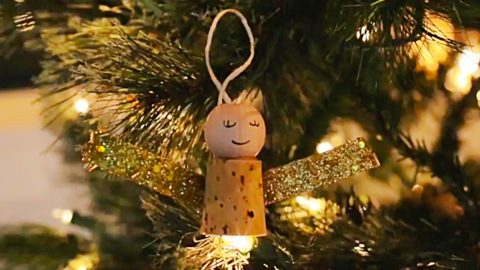 Learn To Make A DIY Cork Christmas Angel | DIY Joy Projects and Crafts Ideas