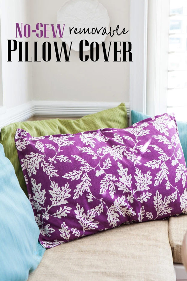 Crafts to sell - Best Sellers on Etsy - Craft Ideas to Make and Sell - Cheap DIYS to Sell for Profit - No Sew Pillow Cover Tutorial