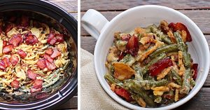 Crockpot Green Bean And Bacon Casserole Recipe