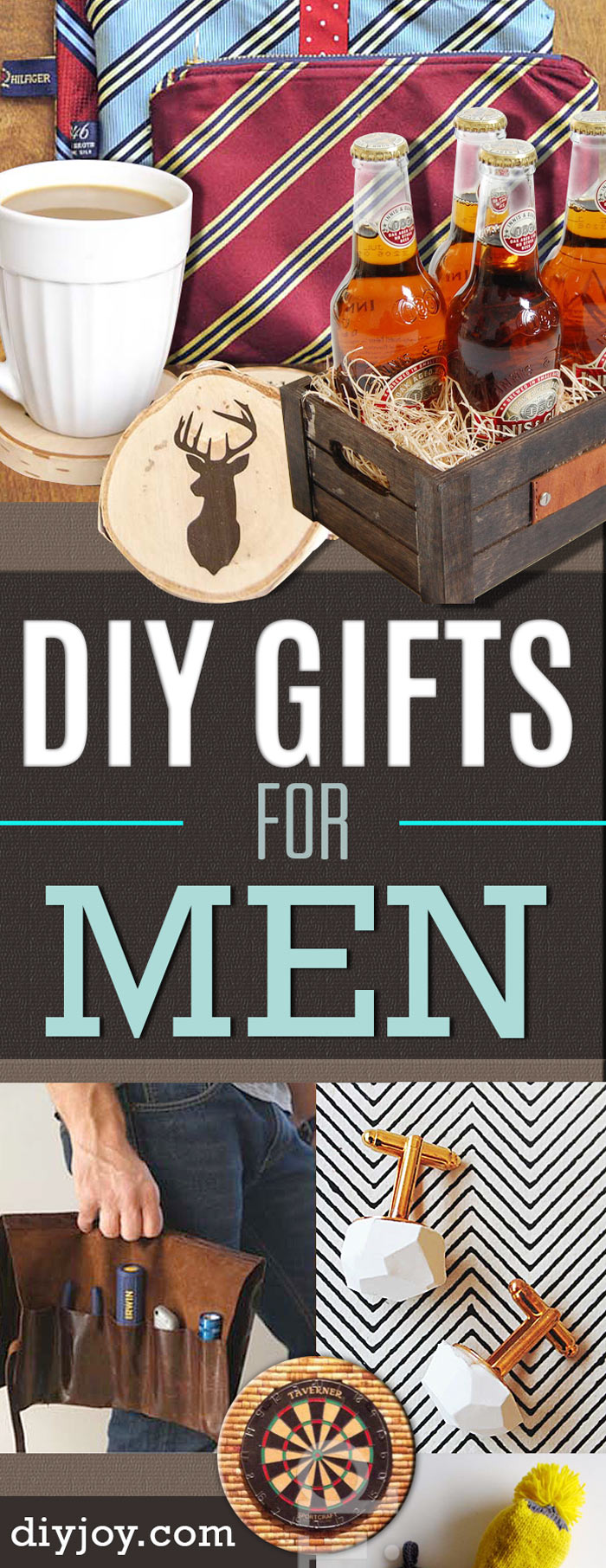 40 Diy Gifts For Men