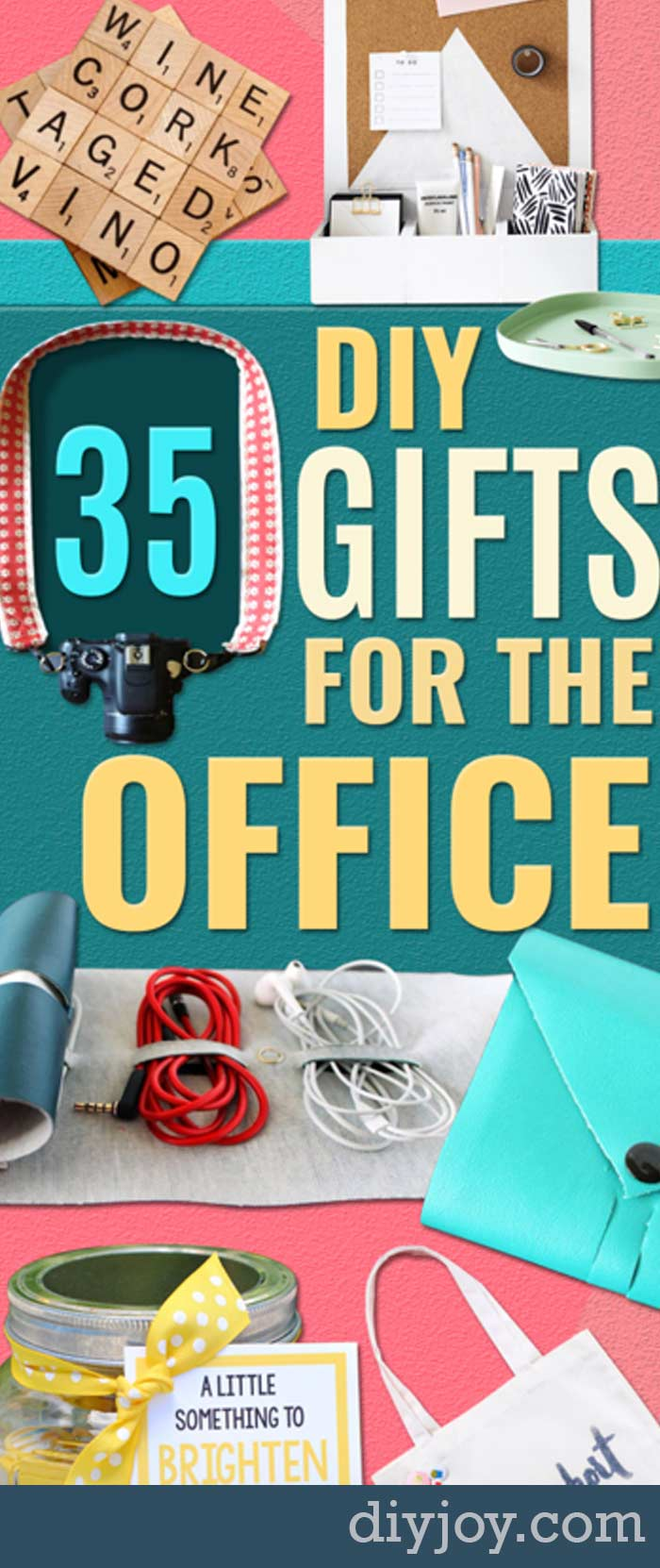DIY Gifts for the Office - DYI Gift Ideas for Boss, Coworkers, Assistant, Friends