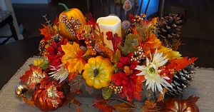 Dollar Tree Thanksgiving Centerpiece