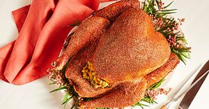 Serve A Glitter Turkey At Thanksgiving With This Recipe