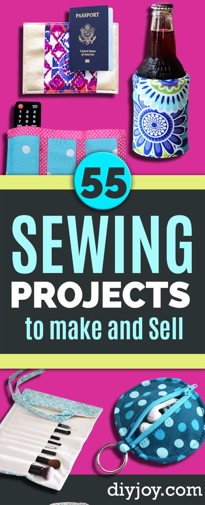 Sewing Projects to Make and Sell - Pin on Sewing Ideas to Sell for Profit - Free Patterns and Tutorial