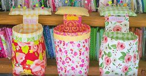 How To Make A Pincushion Thread Basket