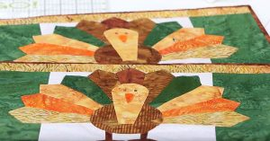 Sewing Tutorial – Quilted Turkey Placemats For Thanksgiving