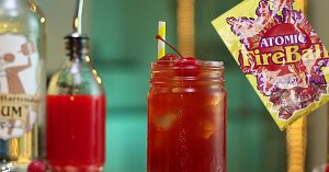 Atomic Peach Fireball Drink Recipe