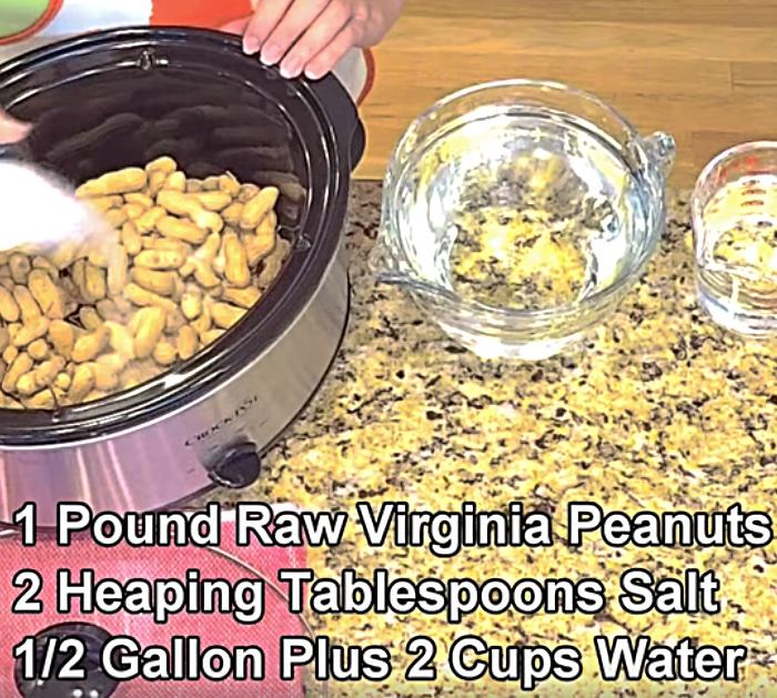Crockpot Southern Boiled Peanuts Recipe