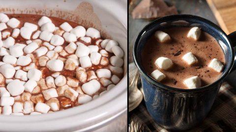 Crockpot Hot Chocolate Recipe | DIY Joy Projects and Crafts Ideas