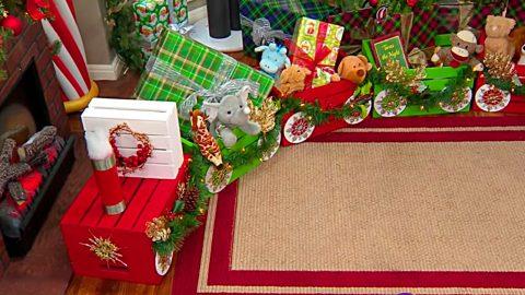 DIY Craft Crate Choo Choo Train | DIY Joy Projects and Crafts Ideas