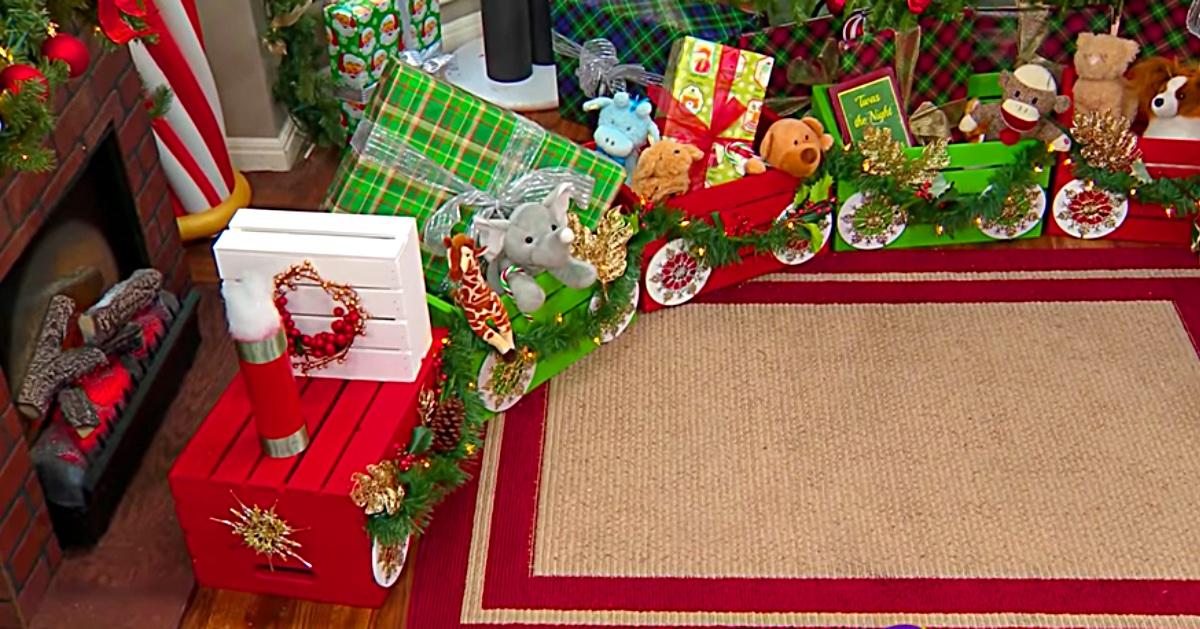 Diy Craft Crate Choo Choo Train