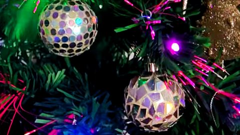 DIY Disco Ball Ornament Using Old CDs | DIY Joy Projects and Crafts Ideas