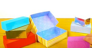 DIY Gift Boxes From Cardstock