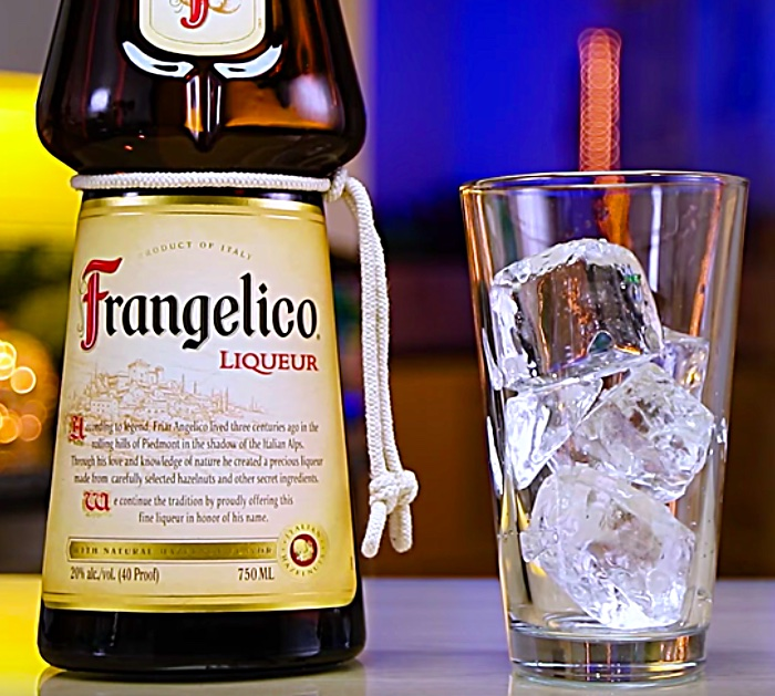 Learn to make a Hot Lil Honey Shot with Frangelica Liquor and Fireball