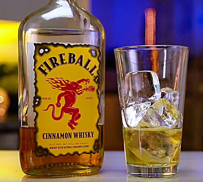 Learn to make a Hot Lil Honey Shot with Frangelica Liquor and Fireball and Jack Daniels
