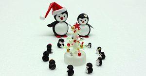 DIY Mini Penguin Family