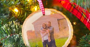 DIY Photo Transfer On Wood Ornament