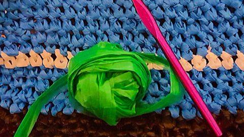 DIY Plastic Bag Yarn | DIY Joy Projects and Crafts Ideas
