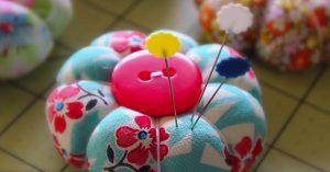 Learn To Sew A Petal Pincushion