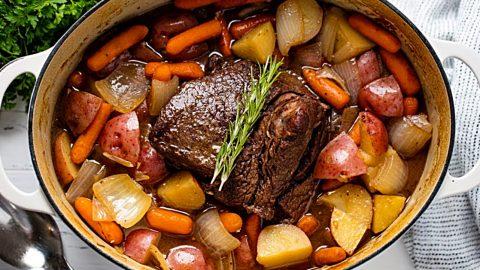 Classic Pot Roast Recipe | DIY Joy Projects and Crafts Ideas