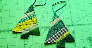 Learn To Sew A Scrappy Tree Ornament