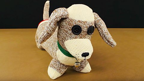 DIY Sock Dachshund Dog | DIY Joy Projects and Crafts Ideas