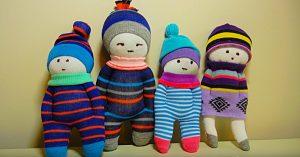 Learn To Make DIY Sock Dolls
