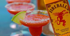 Fireball Strawberry Margarita Recipe