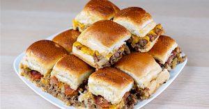 Bacon Cheeseburger Sliders Recipe