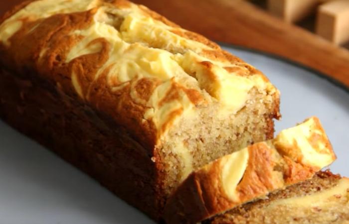 Homemade Cream Cheese Banana Cake Recipe