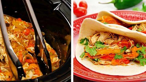 Crockpot Chicken Fajitas | DIY Joy Projects and Crafts Ideas