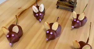 Chocolate Covered Cherry Mice Recipe