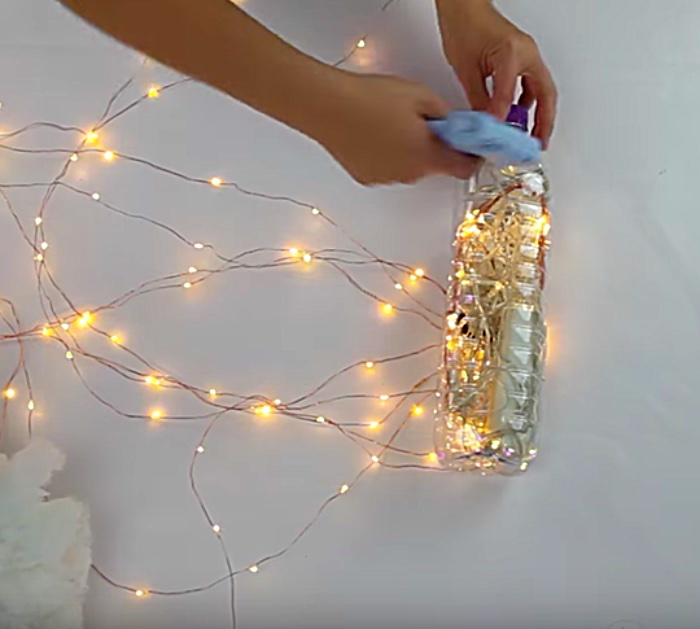 Learn to make a DIY Rain Shower Cloud Light