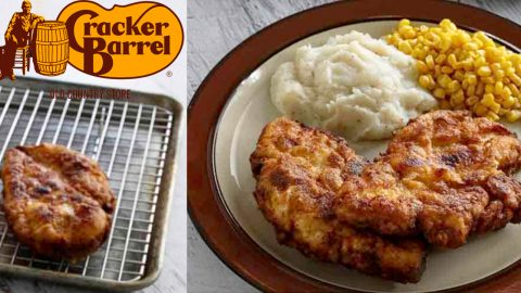 Cracker Barrel Copycat: Sunday Fried Chicken Recipe | DIY Joy Projects and Crafts Ideas