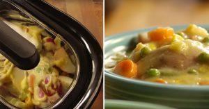 Crockpot Chicken Pot Pie Stew Recipe