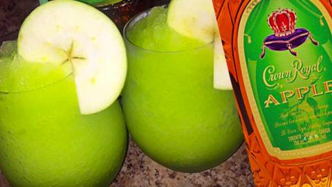 Crown Royal Green Apple Slush Recipe   DIY Joy Projects and Crafts Ideas