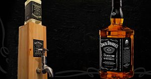 DIY Jack Daniels Dispenser