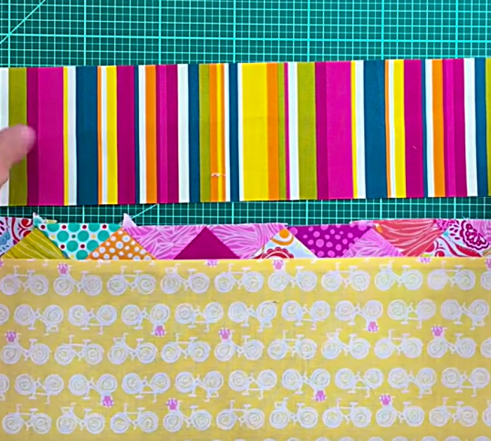 sew a fantastic easy artistic looking DIY Patchwork Notebook Cover