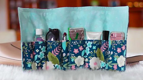 DIY Placemat Bag Organizer Insert   DIY Joy Projects and Crafts Ideas