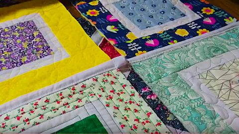 Joining Quilt As You Go Blocks | DIY Joy Projects and Crafts Ideas
