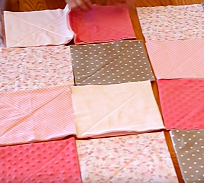 Learn to sew a gorgeous cozy rag quilt for your loved ones