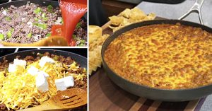 Sloppy Joe Skillet Dip Recipe