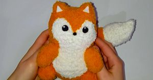 DIY Sock Fox